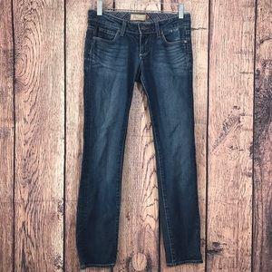 Paige Jeans Medium Wash Skinny 24